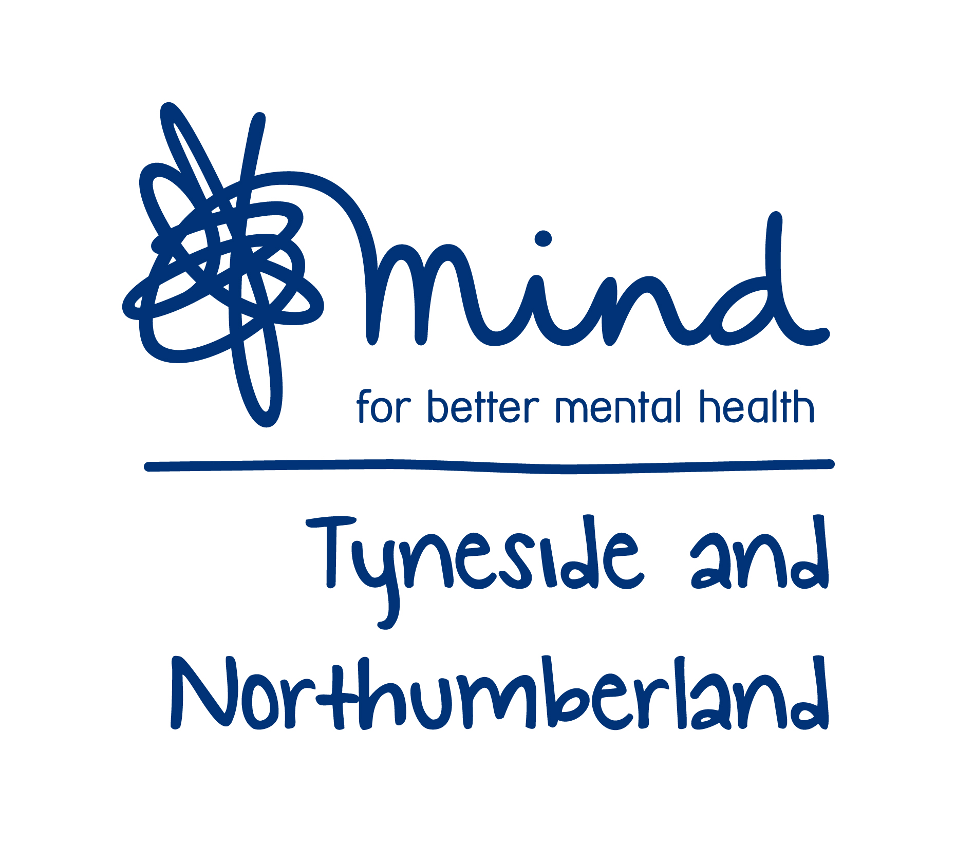 logo for mental health charity Tyneside and Northumberland Mind